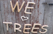 Garden & Beach - we love trees