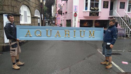 aquarium letters