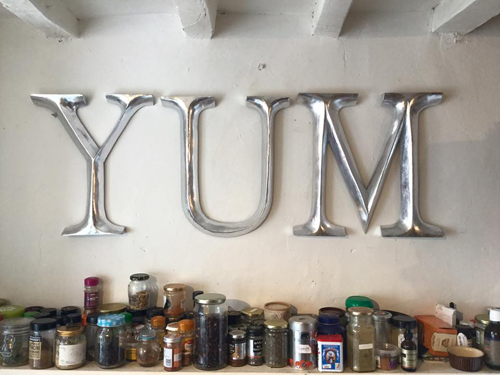 YUM letters