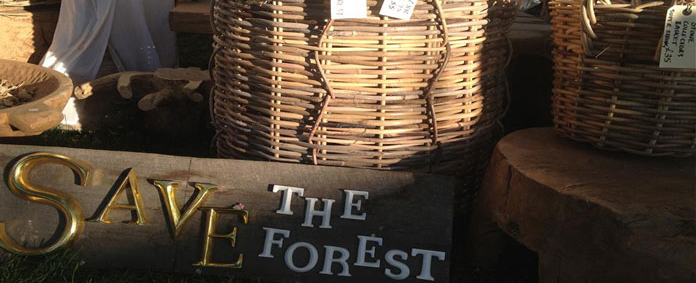Rattan Baskets, Rattan Furniture and Reclaimed Teak Dining Tables by Emily Readett-Bayley