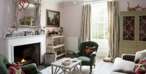 House Beautiful article on Eco-chic designer Emily Readett-Bayley's home