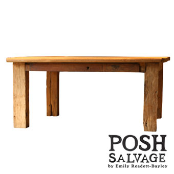POSH Salvage Reclaimed Teak Dining Table