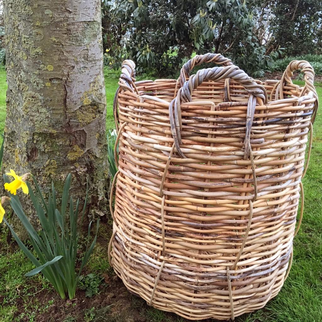 Extra Large Rattan Wicker Basket Emily Readett Bayley