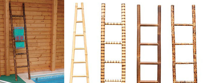 POSH Salvage Bamboo Ladders by Emily Readett-Bayley