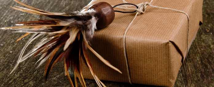 POSH Salvage Feathers and String by Emily Readett-Bayley