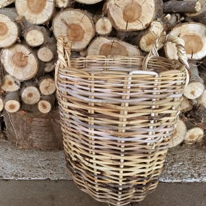 Strong Wicker Basket | Log Basket