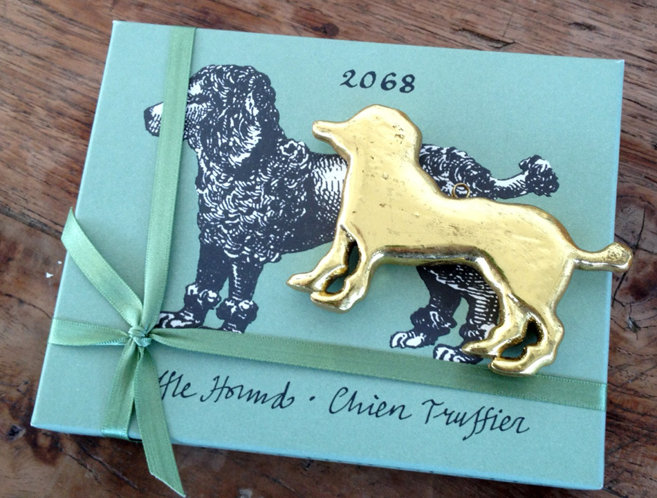 Rococo poodle - made for Rococo by Emily Readett Bayley