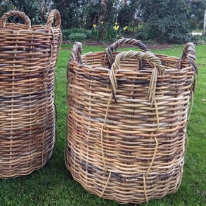 Giant Rattan Wicker Basket Emily Readett Bayley