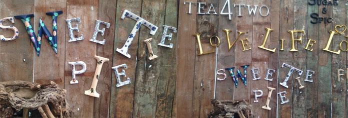 POSH Graffiti letters at Big Feastival