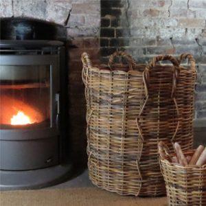 giant wicker basket