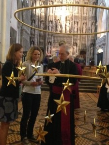 Archbishop of canterbury signs first Alban Angel