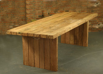 Reclaimed Teak Garden Table