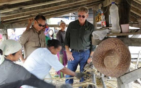 Harrison Ford Rattan Workshop