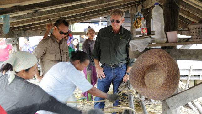 Harrison Ford Rattan Workshop