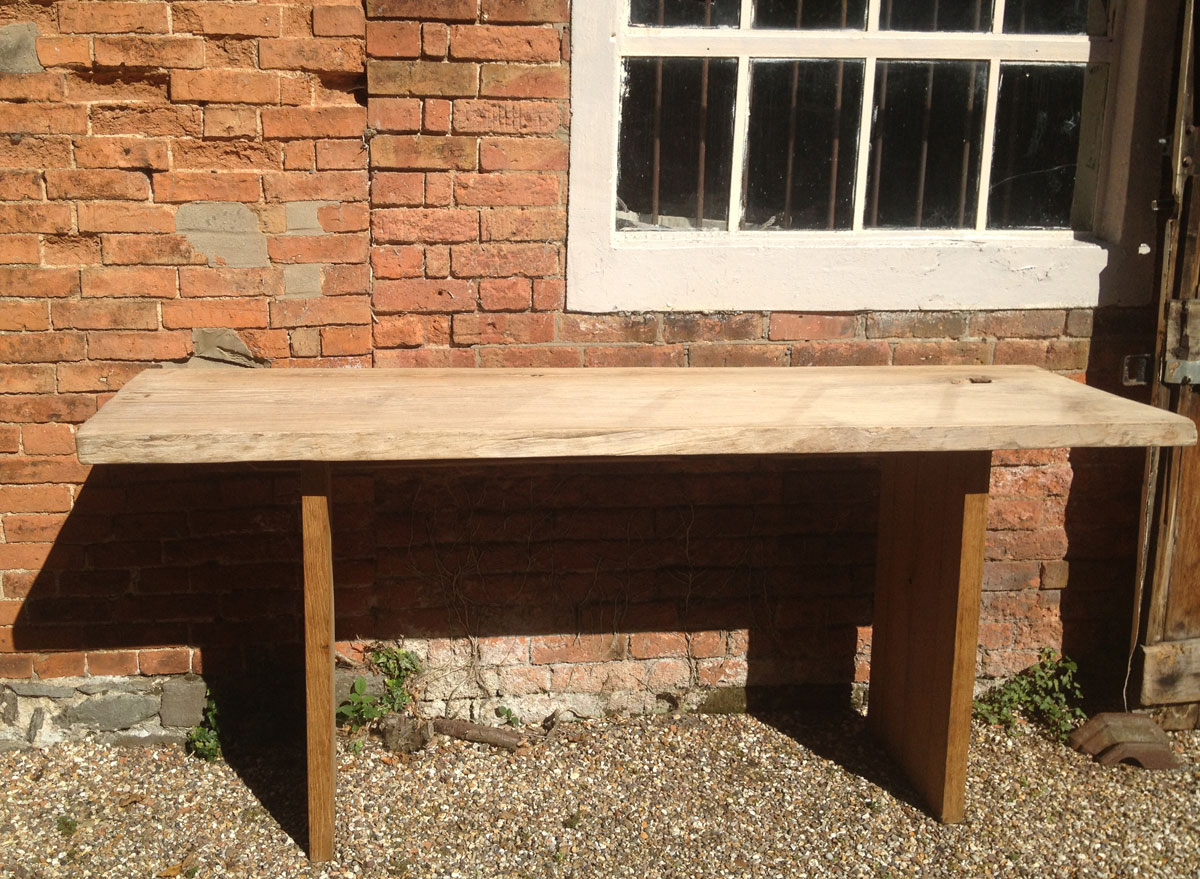 Large Reclaimed Teak Console Table