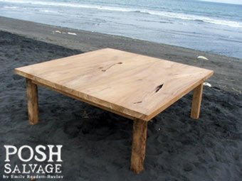 Reclaimed Teak Table
