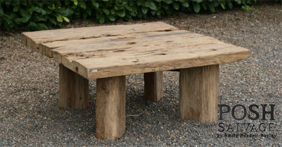Reclaimed Teak Coffee Table