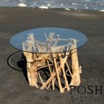 Glass Topped Wild Fig Table
