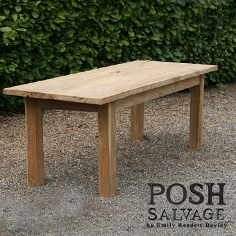 Reclaimed Teak Table 230x90x75cm