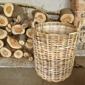 Large strong Wicker Basket | Log Basket