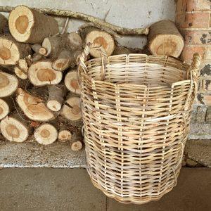 Large strong Wicker Basket | Log Basket