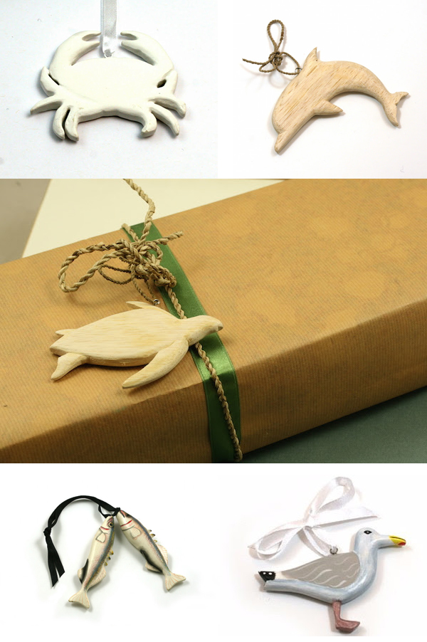 Wooden Animal Decorations by Emily Readett-Bayley