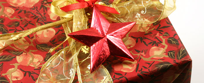 handmade decorations - red star