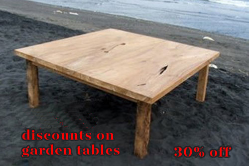 teak table sale