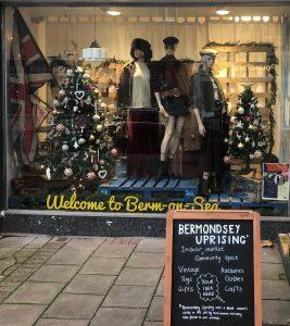 Christmas Pop-Up on The Blue, Bermondsey, London SE16