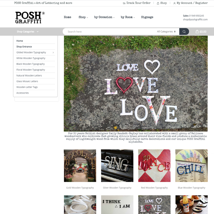 POSH Graffiti