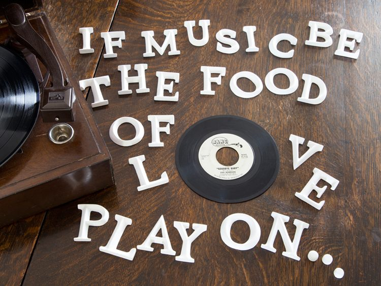 let music be the food of love letters